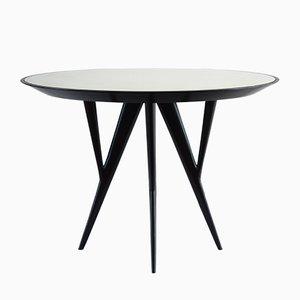Sculptural Round Center Table by Gianni Vigorelli, 1950s