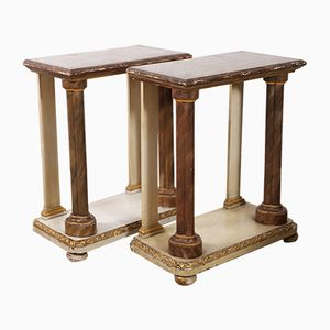 British Console Tables, 1860s, Set of 2