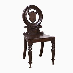 Welsh Oak Hall Chair, 1850s
