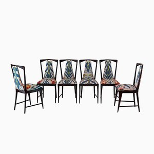 Dining Chairs by Osvaldo Borsani for Atelier Borsani, 1950, Set of 6