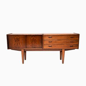 Vintage Danish Low Rosewood Sideboard