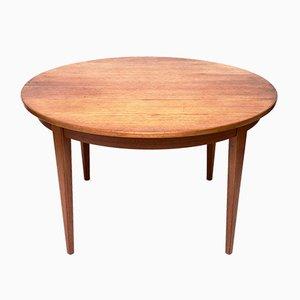 Vintage Danish Extending Dining Table in Teak by Gunni Omann for Omann Jun Møbelfabrik