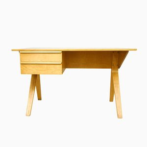 Dutch EB02 Desk by Cees Braakman for Pastoe, 1952