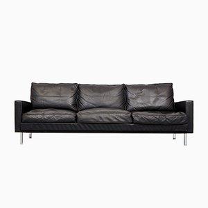 Loose Cushion Ledersofa von George Nelson für Herman Miller