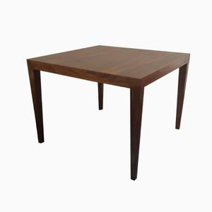 Danish Rosewood Coffee Table by Severin Hansen for Haslev, 1960s