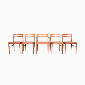 Danish Chairs by Henry W. Klein for Bramin Møbler, 1960s, Set of 5