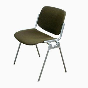 DSC 106 Stacking Chair by G. Piretti for Castelli, 1960s