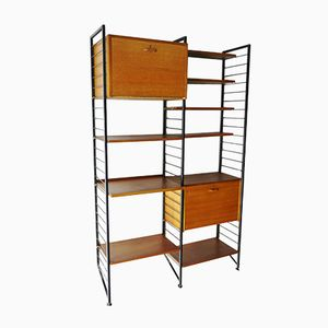 Modular Teak Shelving System from Ladderax, 1960s