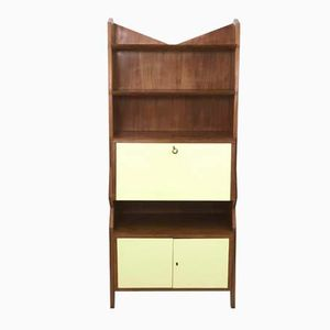 Mid-Century Cherry and Formica Cabinet, 1950s