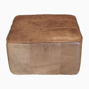 DS 44 Leather Ottoman from de Sede, 1970s