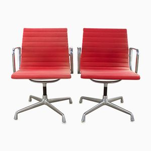 EA108 Armchairs by Charles & Ray Eames for Herman Miller, 1970s, Set of 2