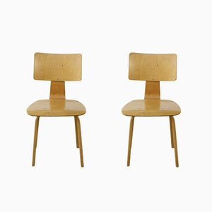 Vintage SB03 Chairs by Cees Braakman for Pastoe, 1950s, Set of 2