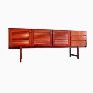 British Rosewood & Brass Sideboard from McIntosh, 1960s