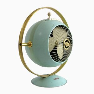 Industrial Space Age Table Fan from Prometheus, 1950s