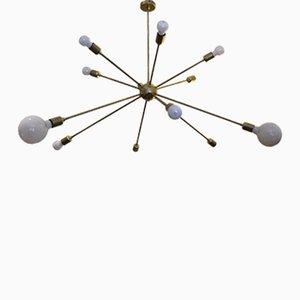 Sputnik Ceiling Light with 12 Arms by Juanma Lizana
