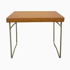 Light Brown Side Table, 1950s