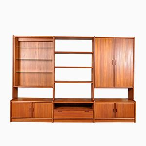Vintage Frederiksborg Series Teak Wall Unit from Dyrlund