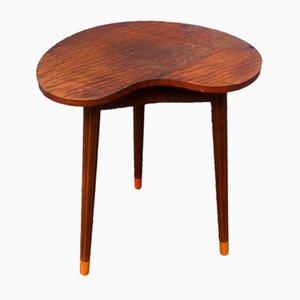 Danish Kidney Shaped Oak Side Table by Edmund Jorgensen, 1950s
