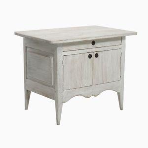 Antique Carved Swedish Cabinet