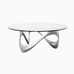 German Snake Coffee Table by Knut Hesterberg for Roland Schmitt, 1970s