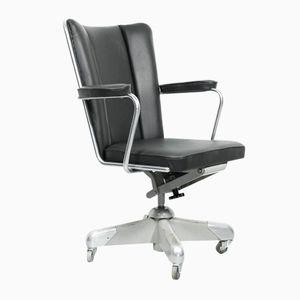 Chaise de Bureau Président Modèle 357 PQ par Ch. Hoffmann pour Gispen, 1950s