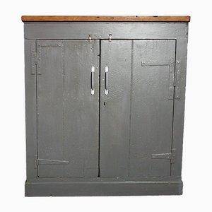 British Hand-Built Shelved Cabinet, 1940s