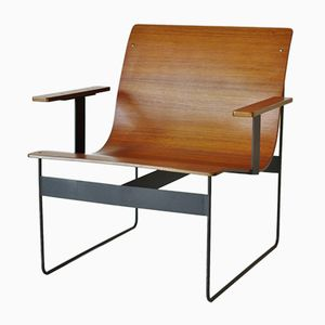 Minimalist Armchair by Gunter Renkel for REGO, 1960s