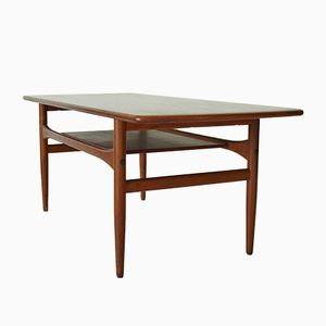Table Basse en Teck de Arrebo, Allemagne, 1920s