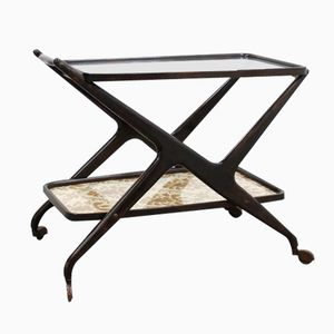 Mid-Century Serving Trolley by Cesare Lacca, 1950s