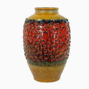 Mid-Century Floor Vase with Bubble Surface from Jasba