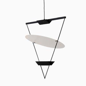 Invertierte Dreieck Lampe von Mario Botta für Artemide, 1985