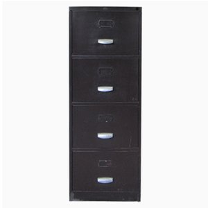 Dark Brown Filing Cabinet from Metalcub, 1950s