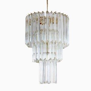 Italienischer Murano Glas Kronleuchter von Paolo Venini für Venini, 1960er
