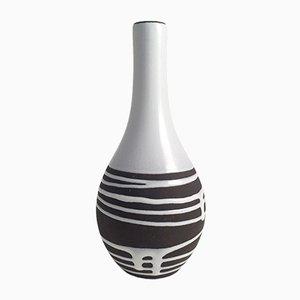 Brown & White Vase from Schlossberg Roulette
