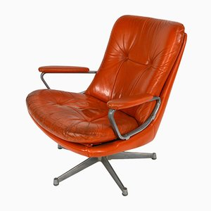 Swiss Swivel Lounge Chair by Andre Vandenbeuck for Strässle, 1960s