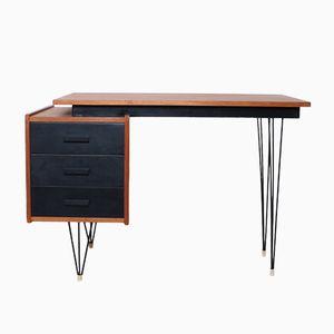 Vintage Schreibtisch mit Gebogenen Tischbeinen von Cees Braakman für Pastoe