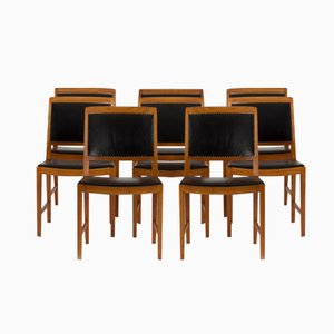 Dining Chairs by Bertil Fridhagen for Bodafors, 1950s, Set of 8