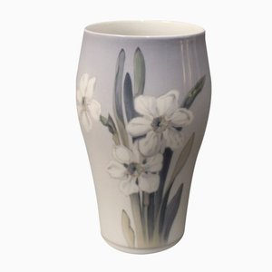 Vase à Motif Floral de from Royal Copenhagen, Danemark, 1957