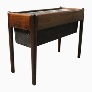 Danish Rosewood Flower Planter, 1960s