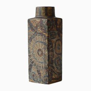 Hohe Braune Vase von Nils Thorsson für Royal Copenhagen