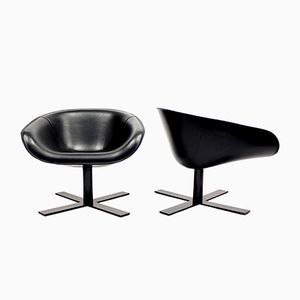 Italian Mart Small Easy Chairs by Antoni Citterio for B&B Italia, 2000s, Set of 2