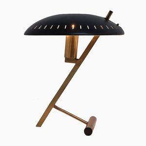 Schwarze Z Tischlampe von Louis Christiaan Kalff für Philips