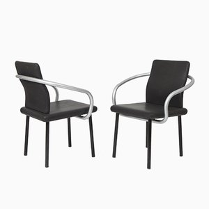 Mandarin Stühle von Ettore Sottsass für Knoll, 1986, 4er Set