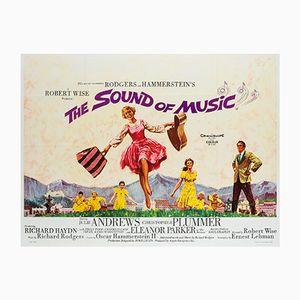 British The Sound of Music Film Poster by Howard Terpning, 1965