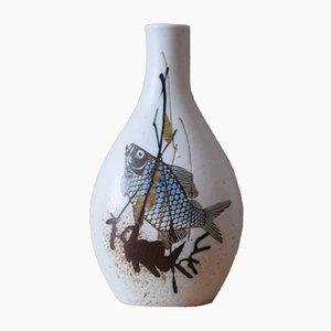 Vase Diane Mid-Century par Nils Thorsson pour Royal Copenhagen, Danemark, 1970s
