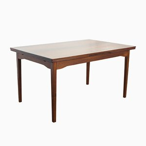 Vintage Danish Rosewood Dining Table, 1960s