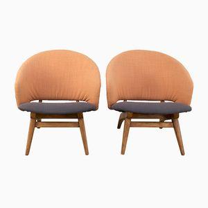 Easy Chairs par Theo Ruth pour Artifort, 1950s, Set de 2