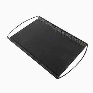 Französisches Modernistisches Chambord Metall Tablett von Mathieu Mategot, 1950er