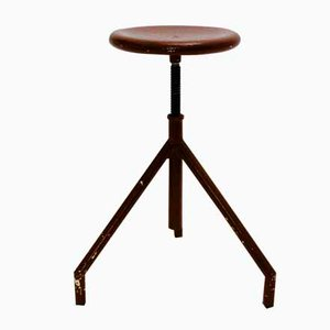 Industrial Trilegged Stool, 1950s