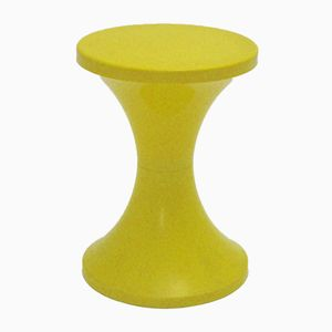 Yellow Tabouret Tam-Tam by Henry Massonet for Stamp France, 1968